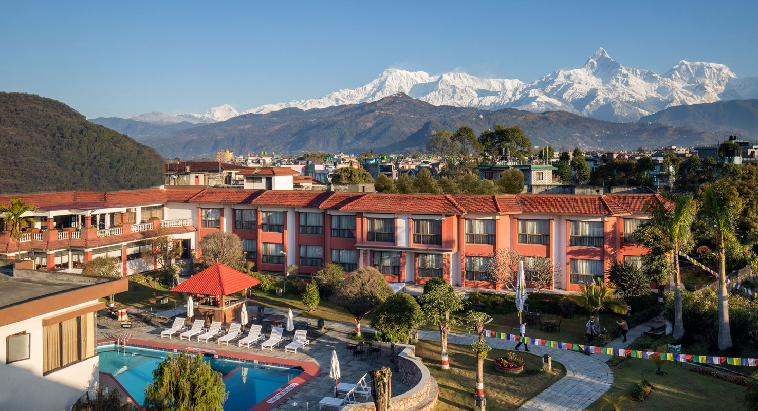 Welcome to Hotel Pokhara Grande